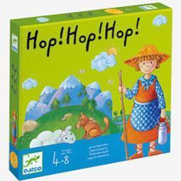 Hop ! hop ! hop ! : pour jouer tous ensemble contre le vent, jeu de coopération | San Cristobal, Monica