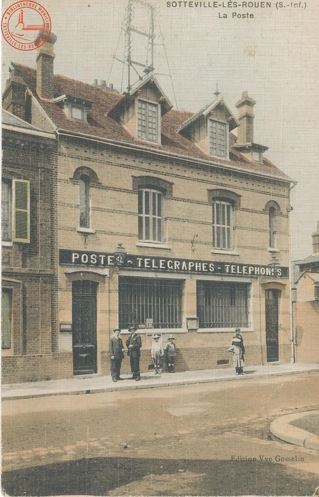 Sotteville-lès-Rouen : La Poste  