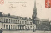 Sotteville-les-Rouen : Mairie et Eglise  