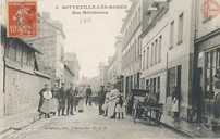 Sotteville-lès-Rouen : rue Méridienne |