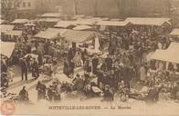 Sotteville-lès-Rouen : le marché  